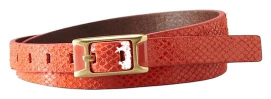 Preload https://item1.tradesy.com/images/fossil-new-fossil-brand-python-snake-embossed-l-coral-leather-skinny-belt-bt4022-2097660-0-0.jpg?width=440&height=440