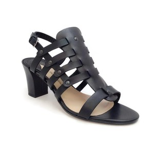 Paul Andrew Birdcage Cage black Sandals