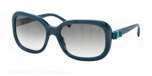 Chanel Teal Square Oversized Sunglasses