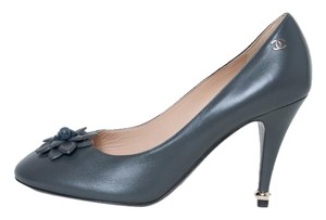 Chanel Dark Gray Pumps