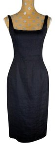 Tahari Bodycon Linen-blend Dress