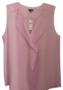 Ann Taylor Top Blush Lilac