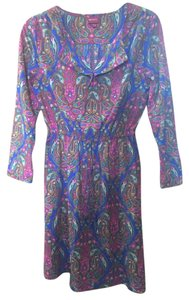 Merona short dress Patterned on Tradesy