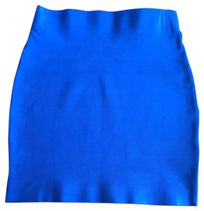 Forever 21 Mini Skirt Royal Blue