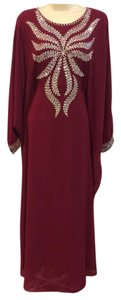 maroon Maxi Dress by Other