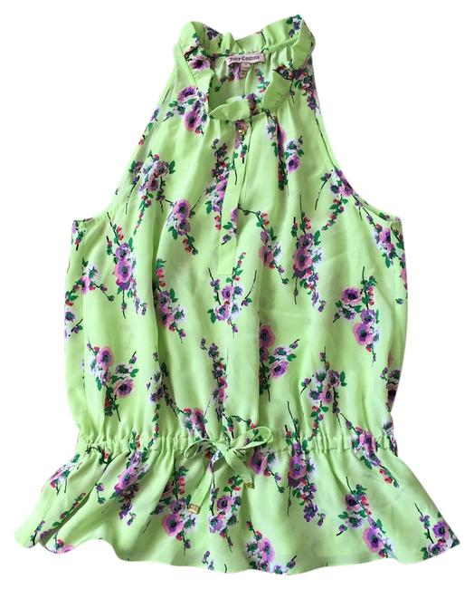 Preload https://item4.tradesy.com/images/juicy-couture-green-blouse-size-4-s-2097713-0-0.jpg?width=400&height=650