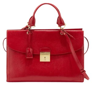 Marc Jacobs The Mini 54 Cross Body Satchel in Flame
