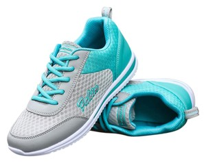 Fahin Yoga Exercise Comfortable Womens Walking Teal Athletic