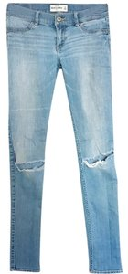 abercrombie kids Skinny Jeans-Light Wash