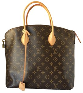 Louis Vuitton Canvas Lockit Monogram Iconic Tote