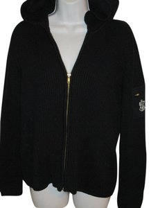 Ralph Lauren Cardigan Zip Nautical Hooded L Sweater
