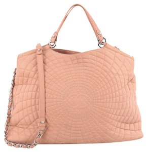 Chanel Calfskin Tote in Light Pink