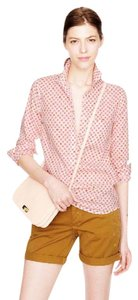 J.Crew Cotton Floral Popover Lightweight Tunic