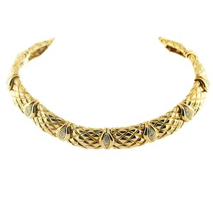 Mauboussin Mauboussin 18k Yellow Gold Diamond Choker Necklace
