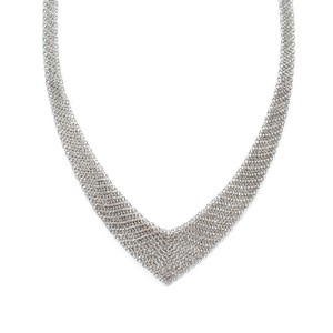 Tiffany & Co. Elsa Peretti Mesh Bib Necklace