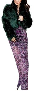 Show Me Your Mumu Long Front Slit Chic Bohemian Smym Boho Pretty Fall Winter Festival Maxi Skirt Purple/Black/White