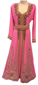 rose pink Maxi Dress by Other