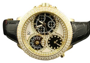 Techno Com by KC TECHNO COM/JOJO/JOE RODEO THERMO DIAMOND WATCH 4.9 CT