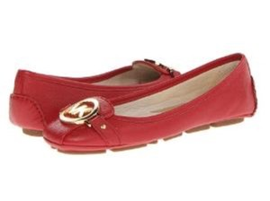 Michael Kors Red Flats