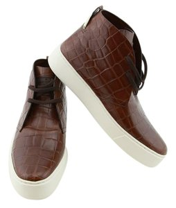 Louis Vuitton Men Moccasins New Flats Lv Boots Brown Formal