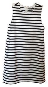 Zara short dress white/black on Tradesy