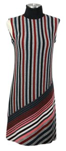 Louis Vuitton short dress Gray / Red Cashmere Lv Wool Lv Cashmere on Tradesy