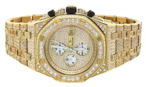 Other Mens Jewelry Unlimited Yellow Gold Watch 43MM AP Style