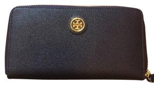 Tory Burch Cameron zip continental wallet tory navy
