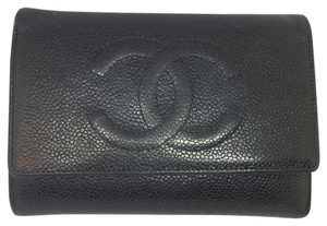 Chanel Chanel Black Caviar Wallet