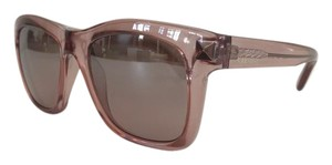 Valentino Valentino Women's Square Translucent Blush Sunglasses 725S-508-52