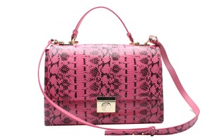 Versace Collection Satchel in PINK