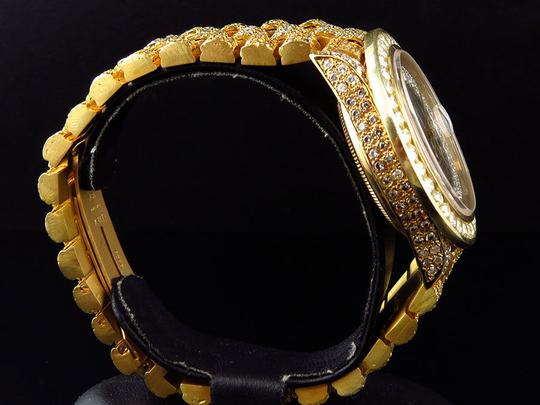 Rolex Rolex President 18038 18k Yellow Gold Day-Date with 18.65 Ct Diamond Image 1