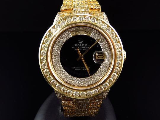 Rolex Rolex President 18038 18k Yellow Gold Day-Date with 18.65 Ct Diamond Image 2