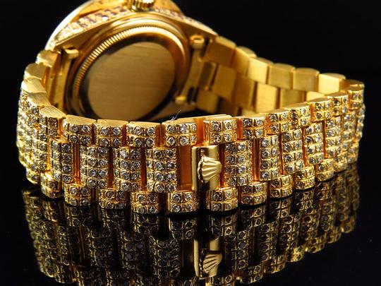 Rolex Rolex President 18038 18k Yellow Gold Day-Date with 18.65 Ct Diamond Image 5