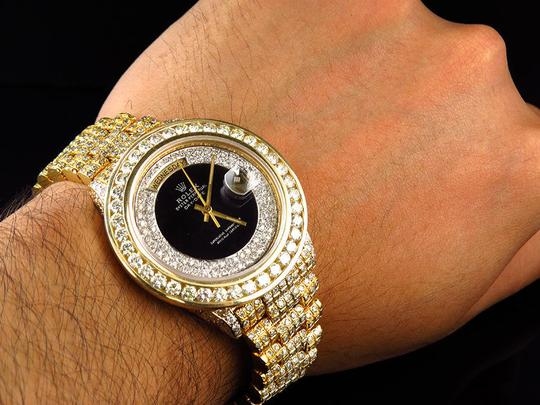 Rolex Rolex President 18038 18k Yellow Gold Day-Date with 18.65 Ct Diamond Image 9