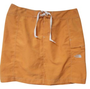 The North Face Mini Skirt ORANGE