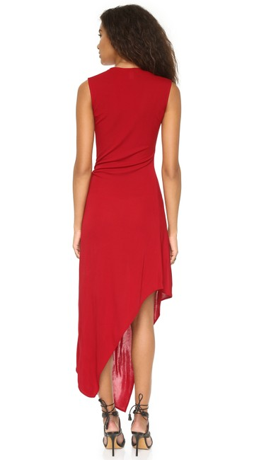 Red Maxi Dress by ISSA London Dvf Tory Burch Haute Hippie Elizabeth And James Black Halo Image 1