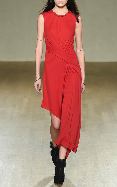Red Maxi Dress by ISSA London Dvf Tory Burch Haute Hippie Elizabeth And James Black Halo Image 2