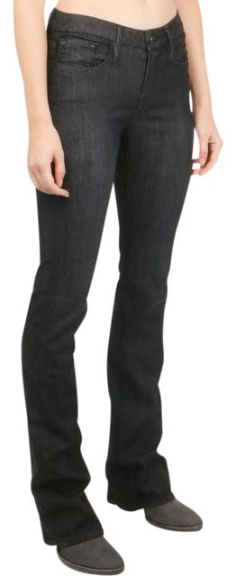 FRAME Stretch Fit Boot Cut Jeans-Dark Rinse Image 0