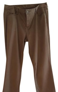 Talbots Straight Pants Olive greeb