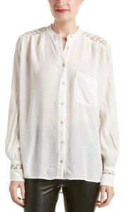 Free People Gauze Top white