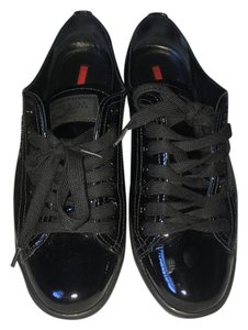 Prada Leather Casual New York black Athletic