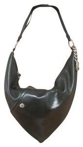 Donald J. Pliner Leather Charm Shoulder Bag