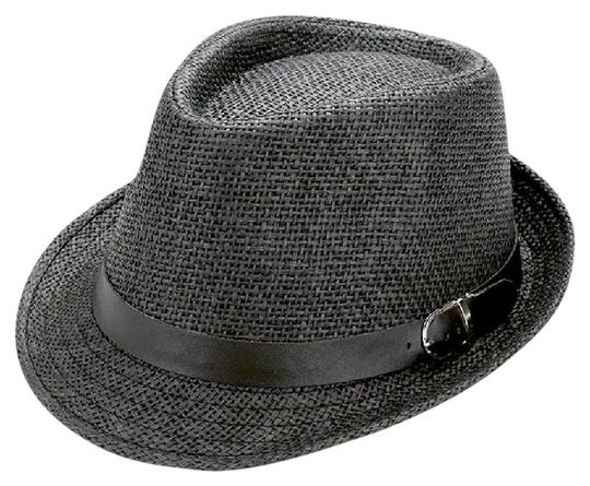 Preload https://img-static.tradesy.com/item/20979230/black-straw-with-faux-leather-buckle-belt-hat-0-1-540-540.jpg