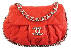 fa2b5b9c7bdc Red Leather Chanel Bags - 70% - 90% off at Tradesy
