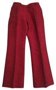Céline Trouser Pants Red