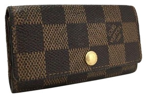 Louis Vuitton Louis Vuitton Damier Multicles 4 Ring Key Case