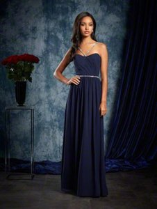 Alfred Angelo Navy Alfred Angelo Sapphire Bridesmaids Dress 8103l Navy Size 8 Dress