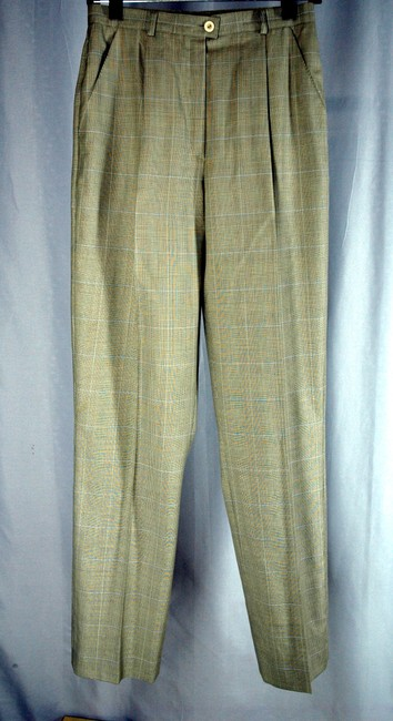 Escada Luxury Wool Gray 2-Buttom Jacket and Pants Designer Suit Image 6