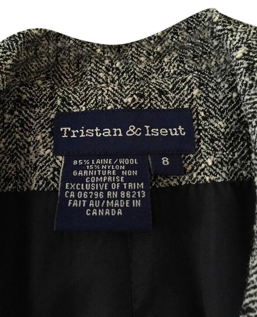 Tristan and Iseut black and white Blazer